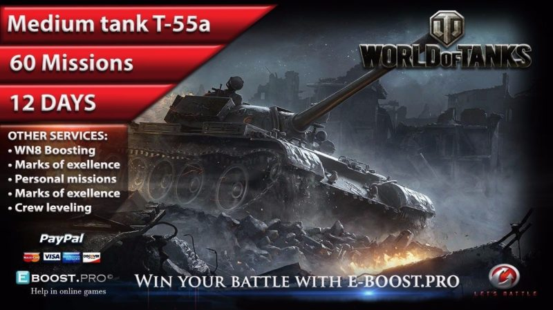 World of tanks, personal missions, powerleveling service