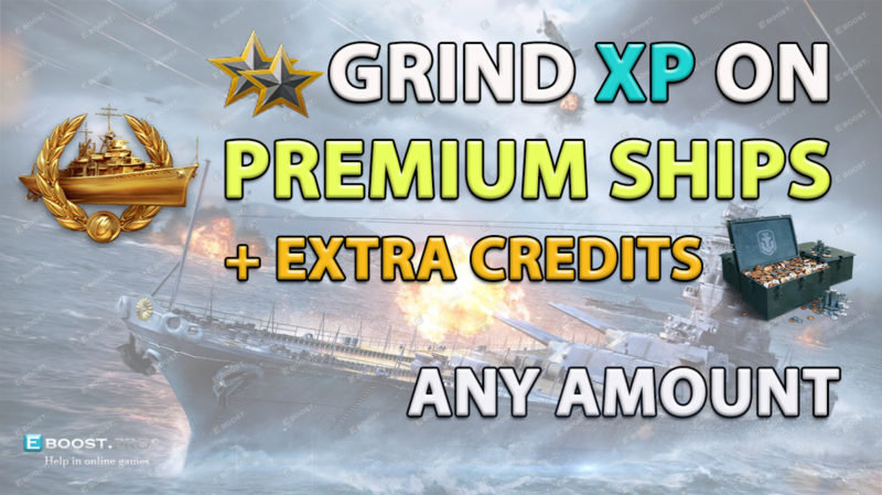 WoWs grind on premium ships any amount